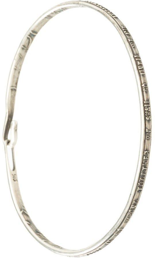 Werkstatt:Munchen Werkstattmnchen Hook On Bracelet