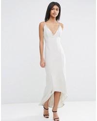 Asos Cami Strap Embellished Trim Maxi Dress