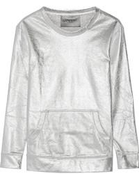 Silver Crew-neck Sweater