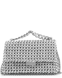 Stella McCartney Becks Woven Faux Leather Cross Body Bag
