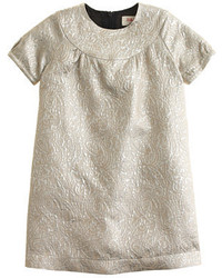 J.Crew Girls Maantm Ivory Lam Dress