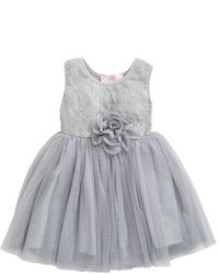 Popatu Floral Lace Tulle Dress