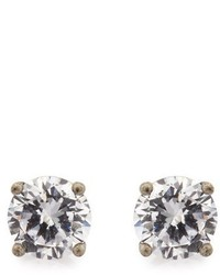 Bottega Veneta Cubic Zirconia And Silver Earrings