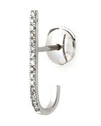 Elise Dray Mini Barre Diamond Earring