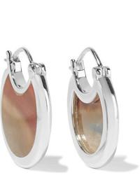 Pamela Love Mojave Silver Jasper Earrings One Size