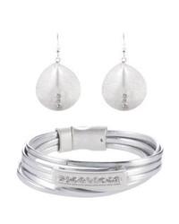 Sweet Deluxe Set Earrings Silberfarben
