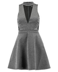 New Look Cocktail Dress Party Dress Silver