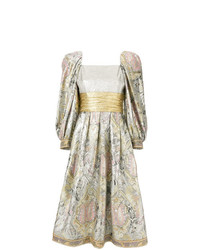William Vintage Leonard Brocade Dress Unavailable