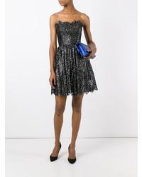 Saint Laurent Strapless Cocktail Dress