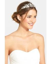 Nina Vina Crystal Floral Headband