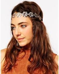 Asos Collection Filigree Flower Chain Headband