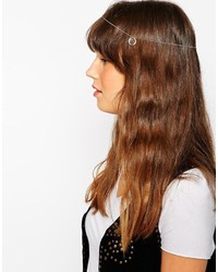 Asos Collection Open Circle Triangle Hair Chain