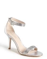 Silver heeled sandals original 2132331