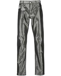 Alexander McQueen Metallic Slim Fit Jeans