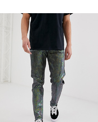 Reclaimed Vintage The 89 Tapered Fit Jeans In Silver