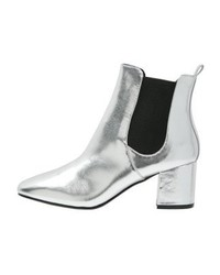 River Island Ankle Boots Silver