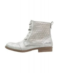 Lace up boots silber medium 4107928
