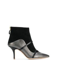 MALONE SOULIERS BY ROY LUWOLT Madison Two Tone Booties