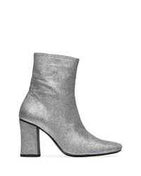 Dorateymur Silver Glitter Sybil 90 Boots
