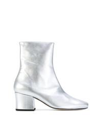 Dorateymur Silver Leather Sybil Leek 65 Boots