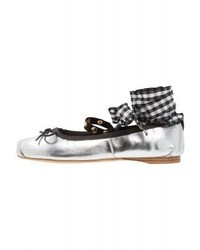 Ballet pumps silver medium 4060450