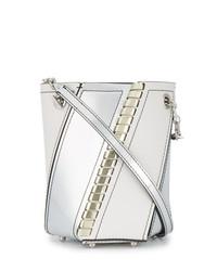 Proenza Schouler White Silver Hex Mini Bucket Bag