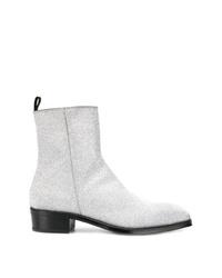 Alexander McQueen Zipped Ankle Boots