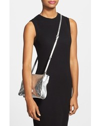 8c3e718dc319 ... Marc by Marc Jacobs Double Percy Metallic Leather Crossbody Bag ...