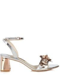 Sophia Webster Lilico Patent Leather Block Heel Sandals
