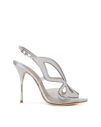 Sophia Webster Sling Back Metallic Sandals