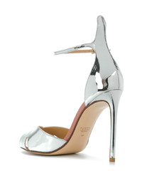 Francesco Russo Slingback Mirror Sandals