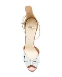 Francesco Russo Slingback Mirror Sandals