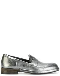 Roberto Del Carlo Contrast Heel Loafers