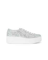 Miu Miu Glitter Low Top Sneakers