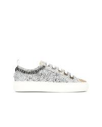 N°21 N21 Platform Glitter Sneakers