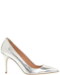 J.Crew Elsie Metallic Leather Pumps