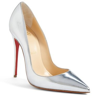 e72eb1914c1 £556, Christian Louboutin So Kate Pointy Toe Pump