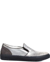 Fiorentini baker metallic slip on sneakers medium 596928