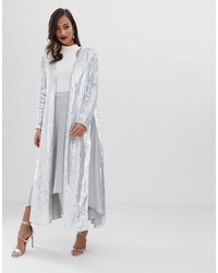 ASOS EDITION Split Side Jacket In Sequin