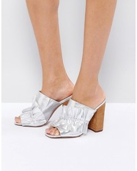 Asos Talent Scout Ruffle Mules