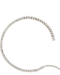Swarovski Ryan Storer Unfinished Line Rhodium Plated Crystal Choker