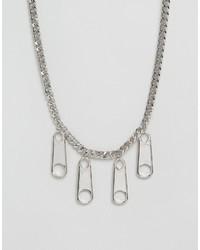 Cheap Monday Zipper Necklace