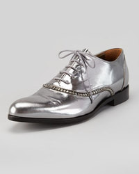 Silver oxford shoes original 8534655