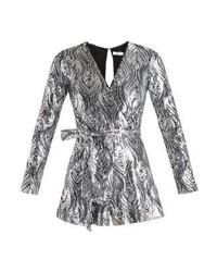Oh My Love La Rochelle Jumpsuit Silver