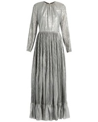 ADAM by Adam Lippes Adam Lippes Long Sleeved Pleated Maxi Dress