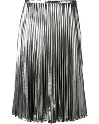 MICHAEL Michael Kors Michl Michl Kors Pleated Metallic Skirt