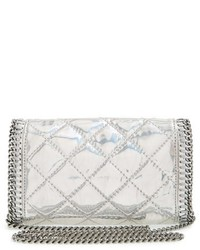 ... Stella McCartney Falabella Quilted Metallic Crossbody Bag f3a5f8ad3c253