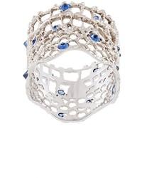Aurelie Bidermann Vintage Lace Sapphire Ring