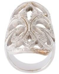 Loree Rodkin Xl Cigar Band Diamond Ring