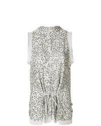 Chloé Sequinned High Neck Top